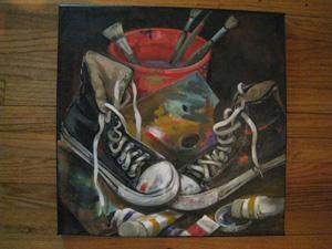 Donated Fine Art by Mabel Vittini