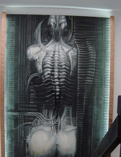 Giger Reproduction Painting