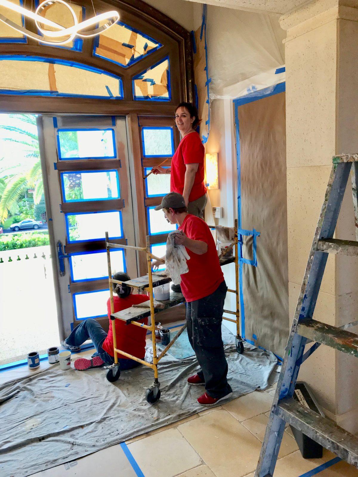 Vitti Art Decor Faux Bois - Faux Wood Graining Exterior Doors in Highland Beach Florida