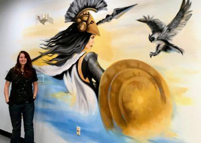 Commercial Painting, Custom Mural in Boca Raton Florida