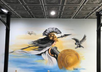 Custom Wall Mural by Vitti Art Decor & Painting