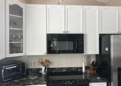 cabinets refinished by Vitti Art Decor