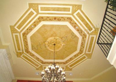 Custom Design Tray Ceiling Artist
