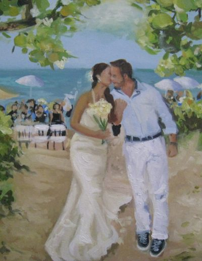 Wedding Painting Portraits