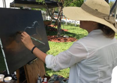 equestrian horse wellington painting