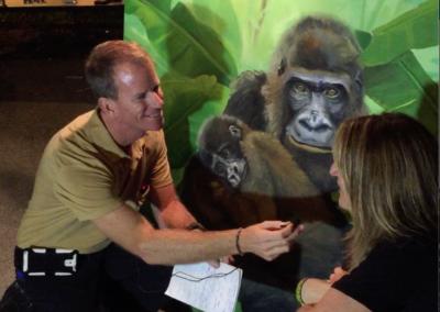 Gorilla Painting Art Environment Save