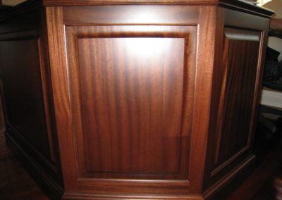Wood Grain Faux finish on furniture by Vitti Art Decor