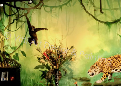 Rainforest Murals by Mabel Vittini Commercial Painting