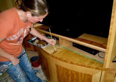 Mabel Vittini Faux Wood Graining Furniture