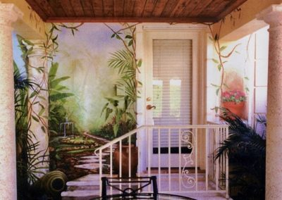 "Trompe L'oeil by Mabel Vittini ""The Garden"""