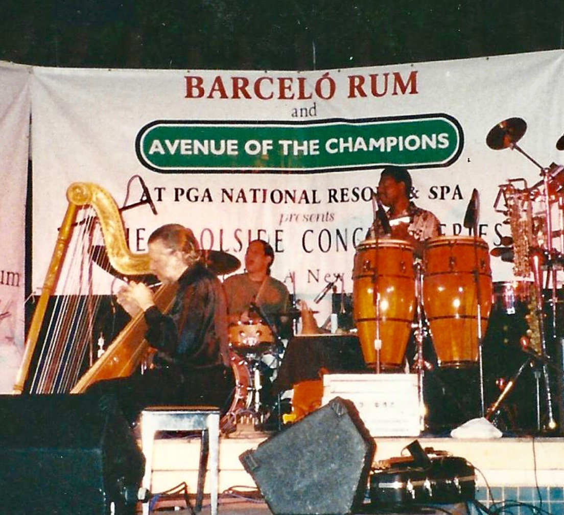 "Roberto Perera performing at PGA National Resort & Spa ""The Poolside Concert Series"""